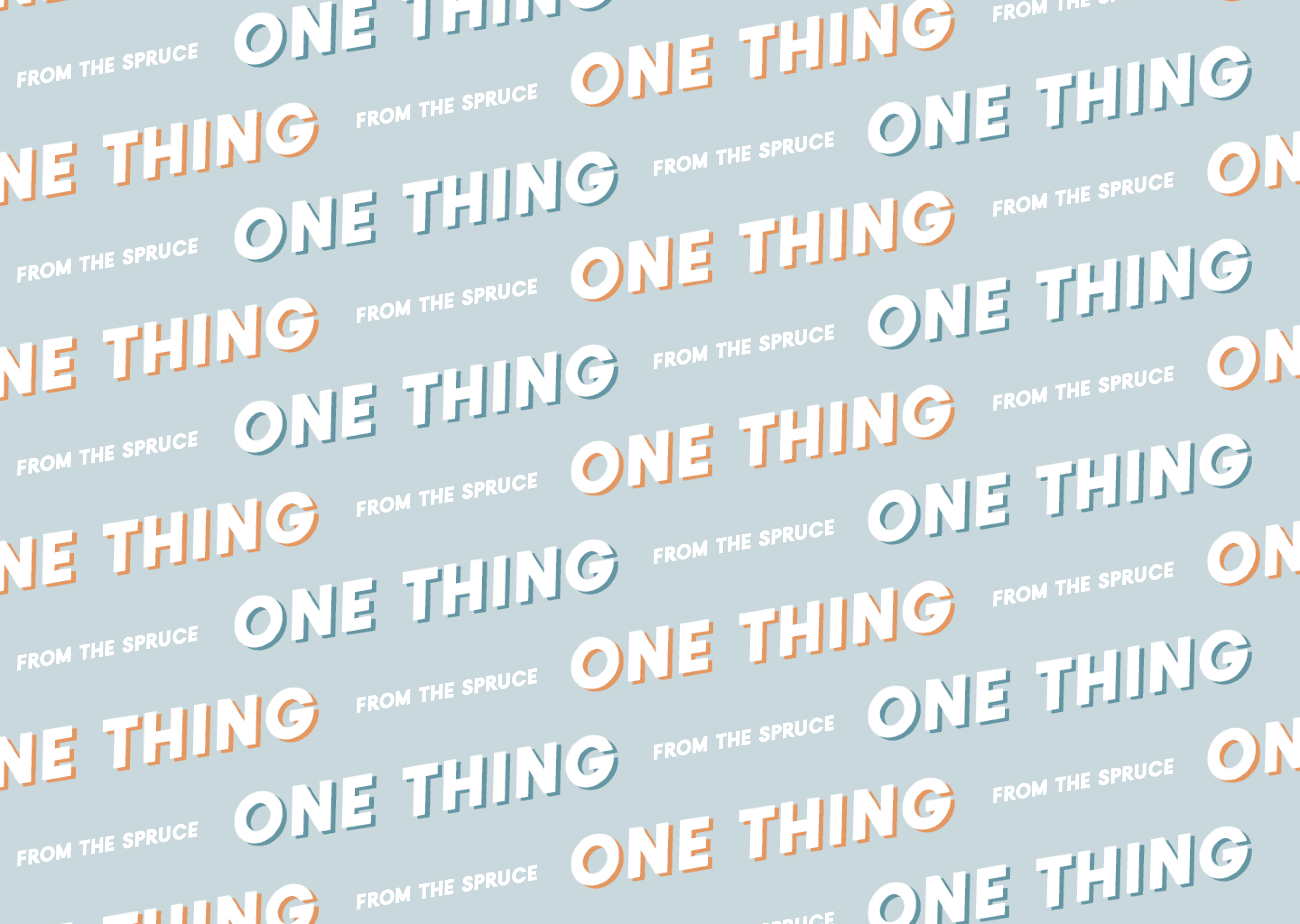 One thing logo header image