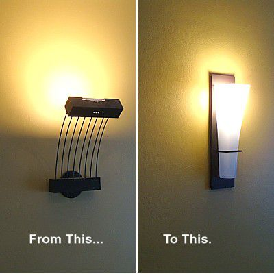 How To Replace A Wall Mounted Light Fixture Sconce