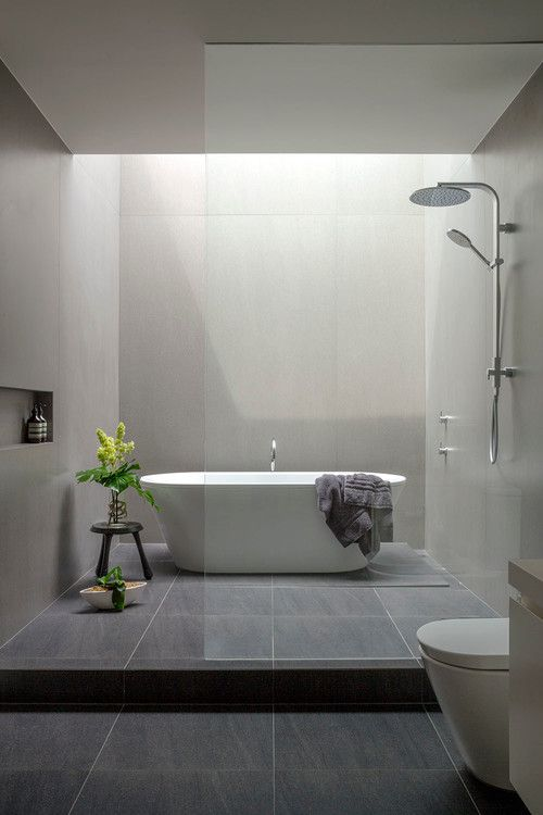 14 Ideas For Modern Style Bathrooms - Modern-bathroom-designs