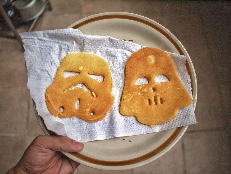 Pancakes x Star Wars