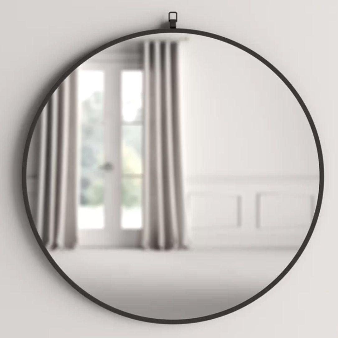 Amina Round Accent Mirror