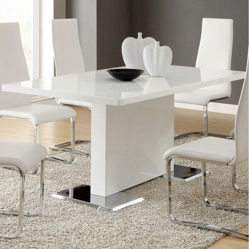 Ivy Bronx Horwich Pedestal Dining Table