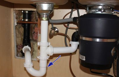 Fitting Kitchen Sink Waste Outlet