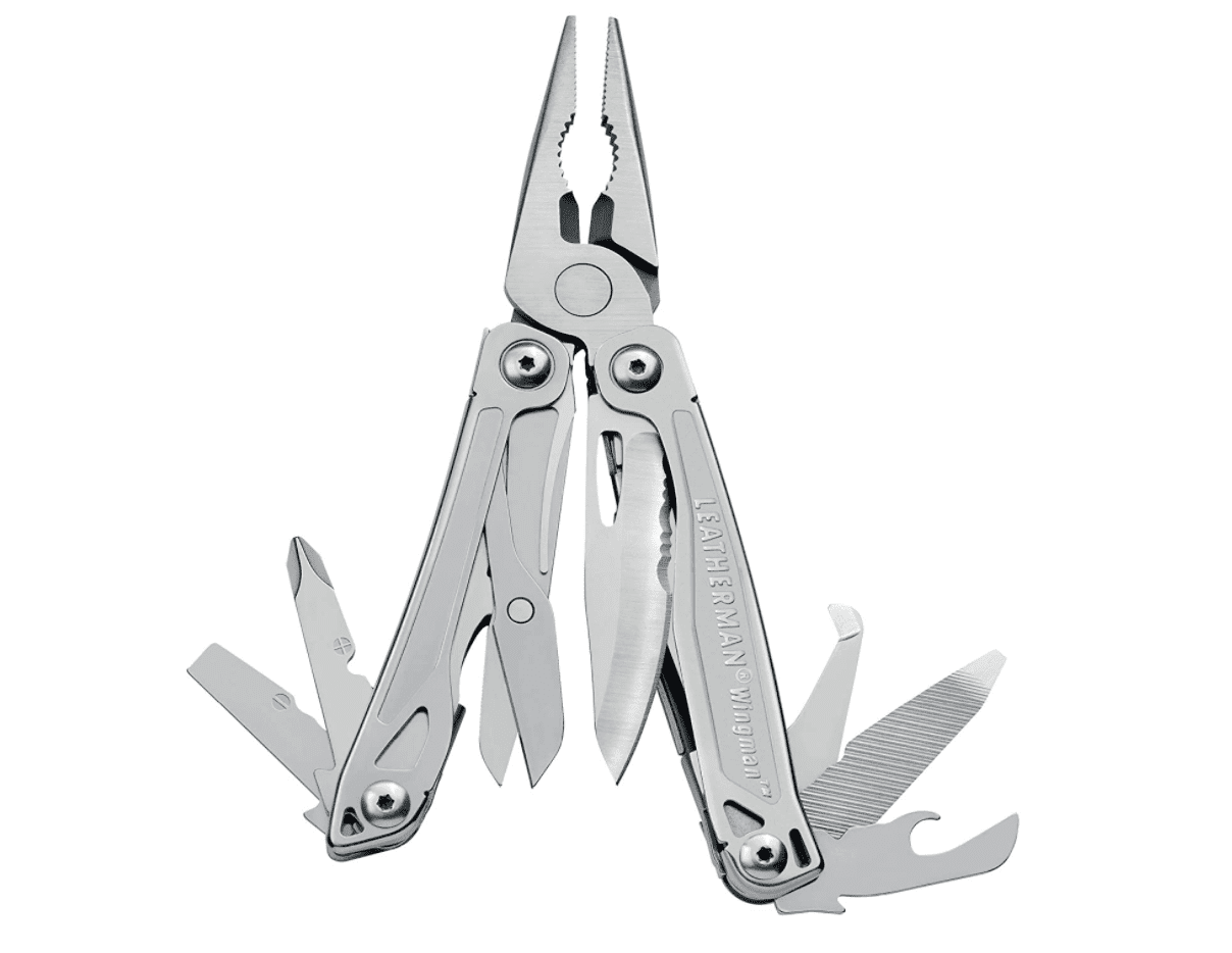 Leatherman Wingman Multitool with Spring-Action Pliers and Scissors
