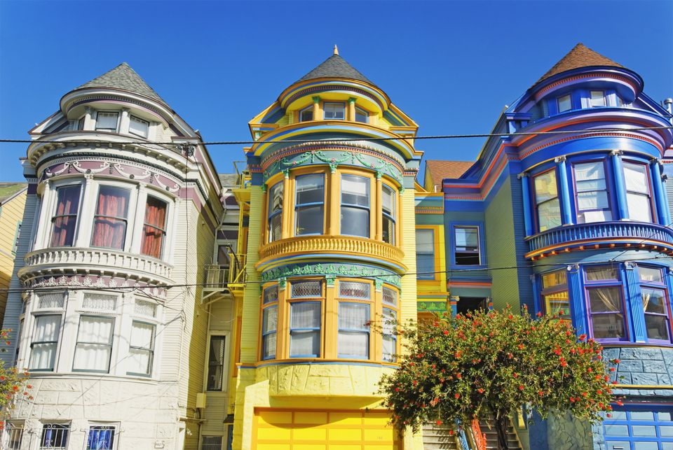 Colorful Victorian House Exterior