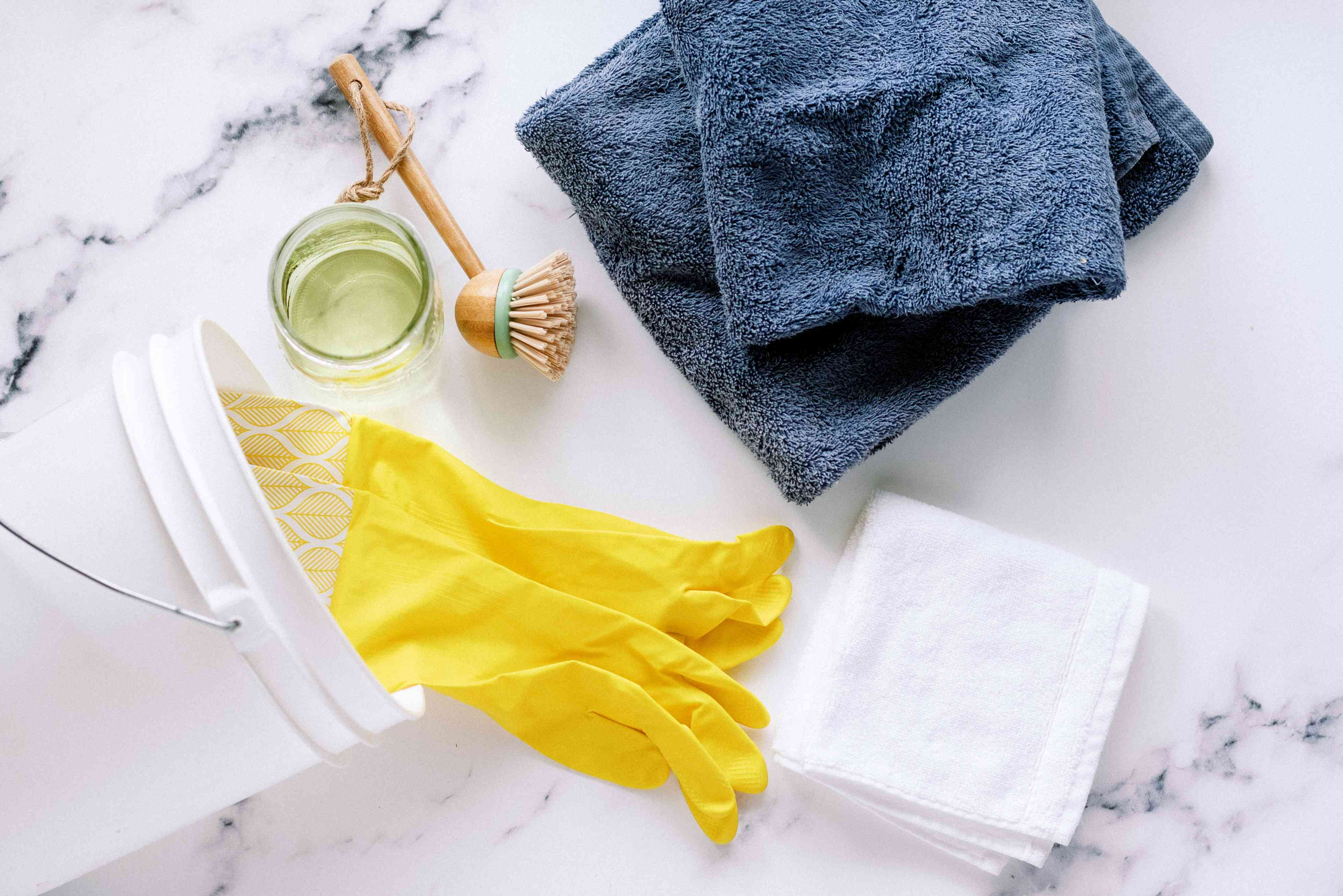 materials for disinfecting a washer and dryer