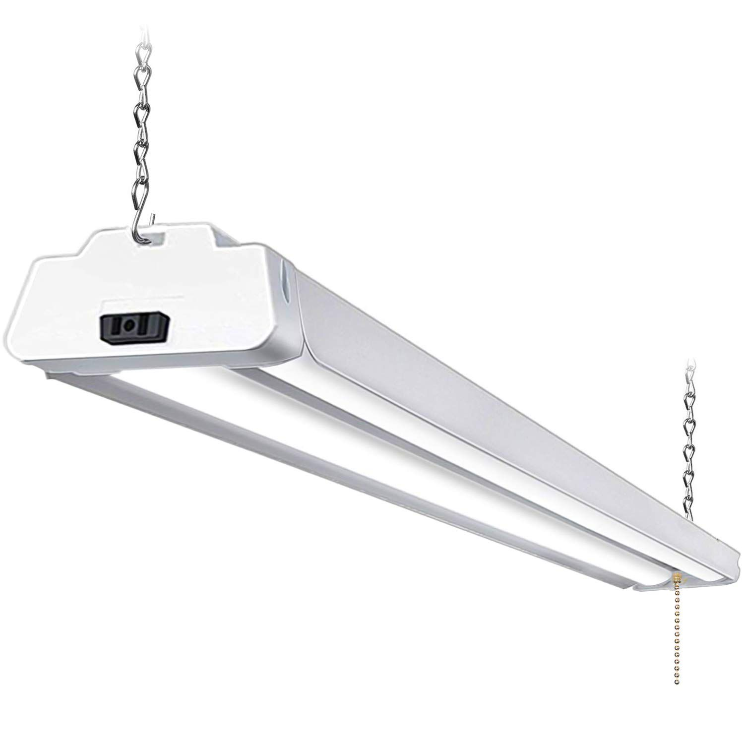 Hykolity 5000K LED Shop Light Linkable, 4FT Daylight