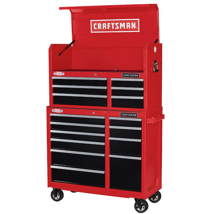41-Inch Tool Chest/Cabinet Combo