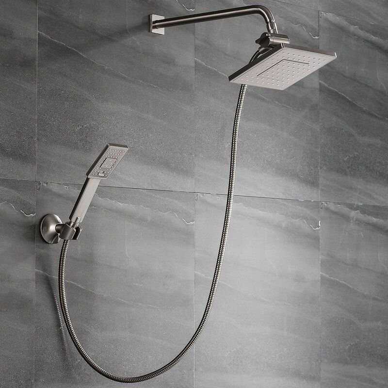 Bright Showers Multi-Function Dual Shower Head