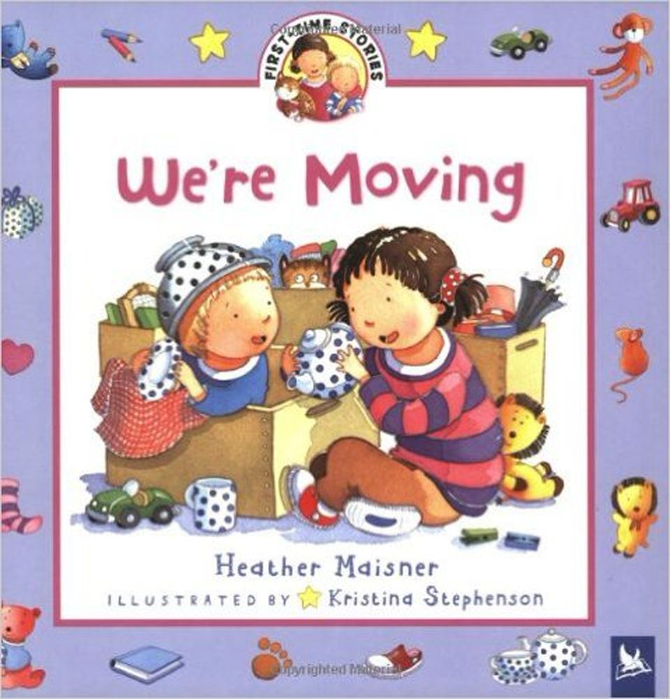 Book cover of 'We're Moving'