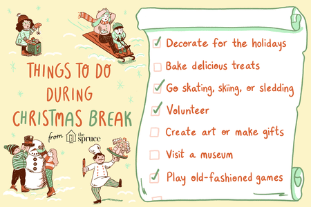 21 things to do during christmas break
