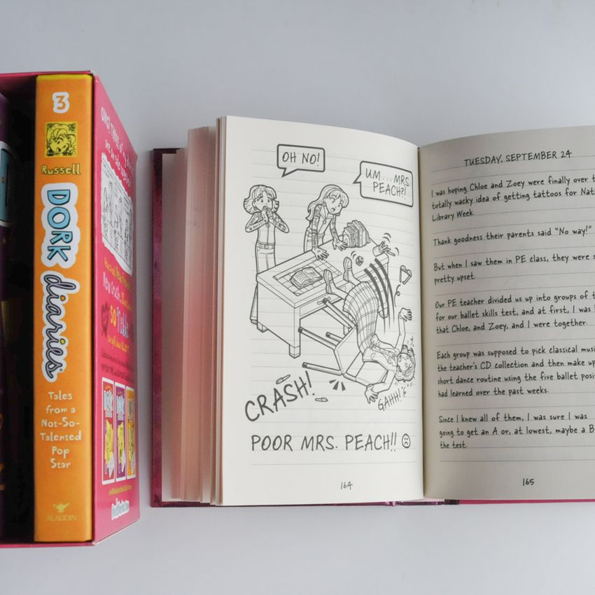 Dork Diaries Box Set (Books 1-3)