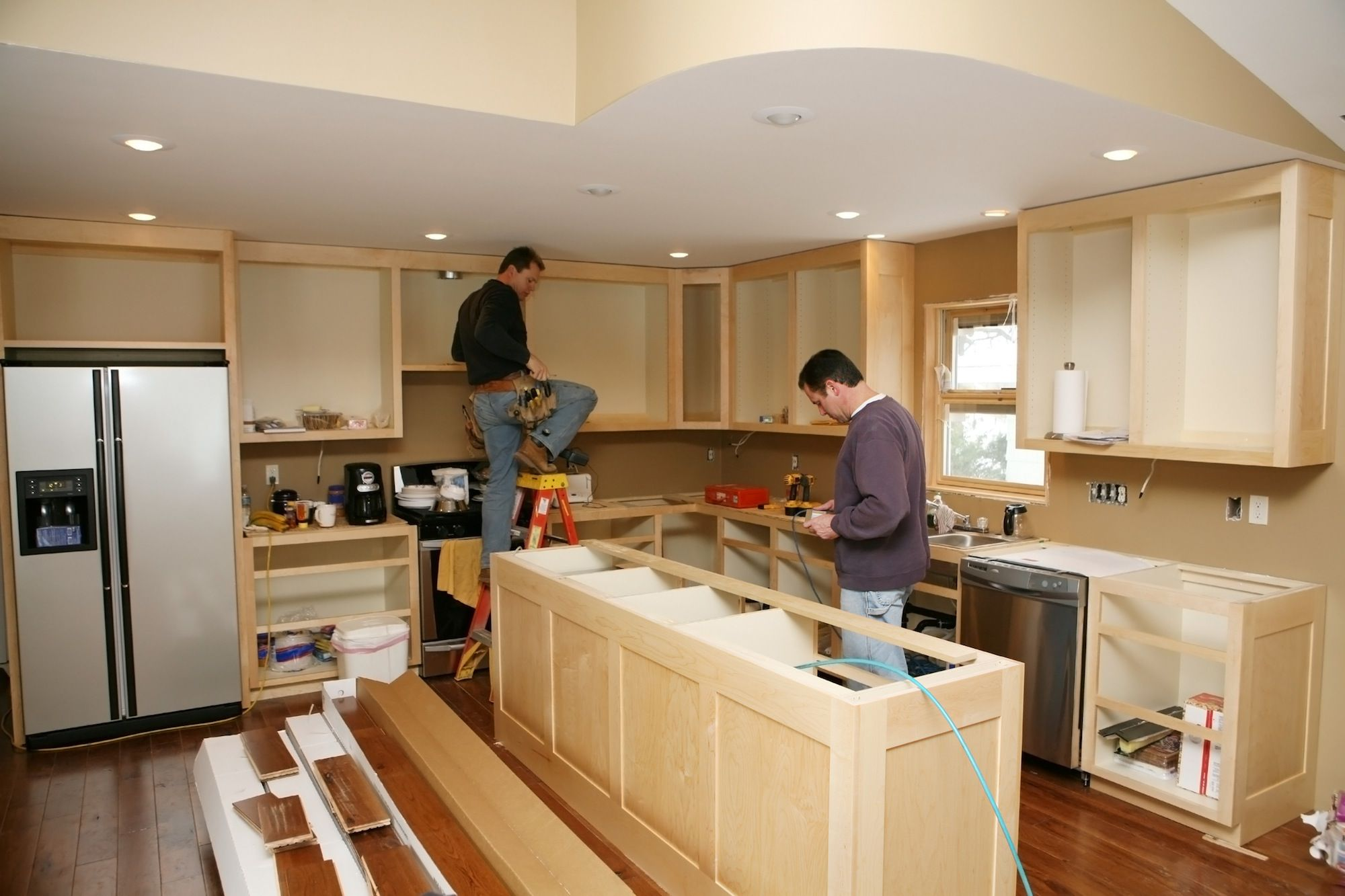 Pleasant How Professionals Estimate Kitchen Remodeling Costs Home Interior And Landscaping Palasignezvosmurscom