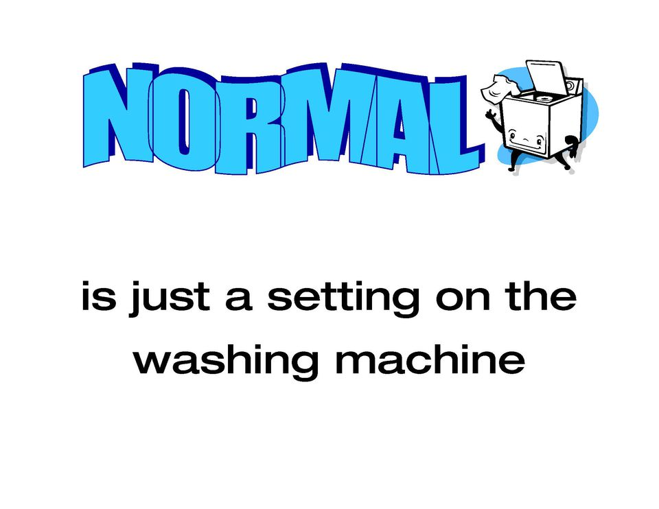 Normal is a Washer Setting