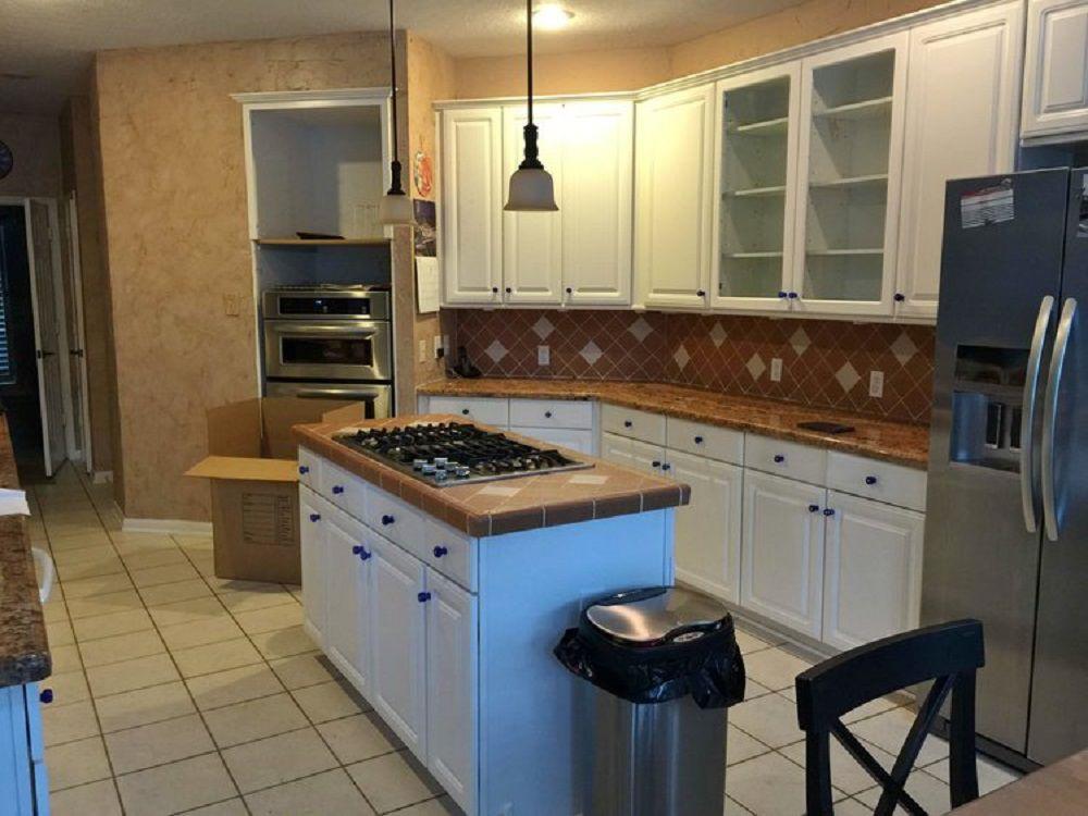 Carla Aston's Kitchen Remodel Before