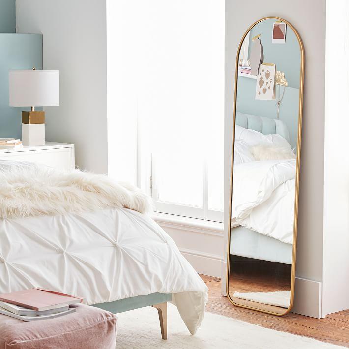 Metal Framed Full Length Mirror