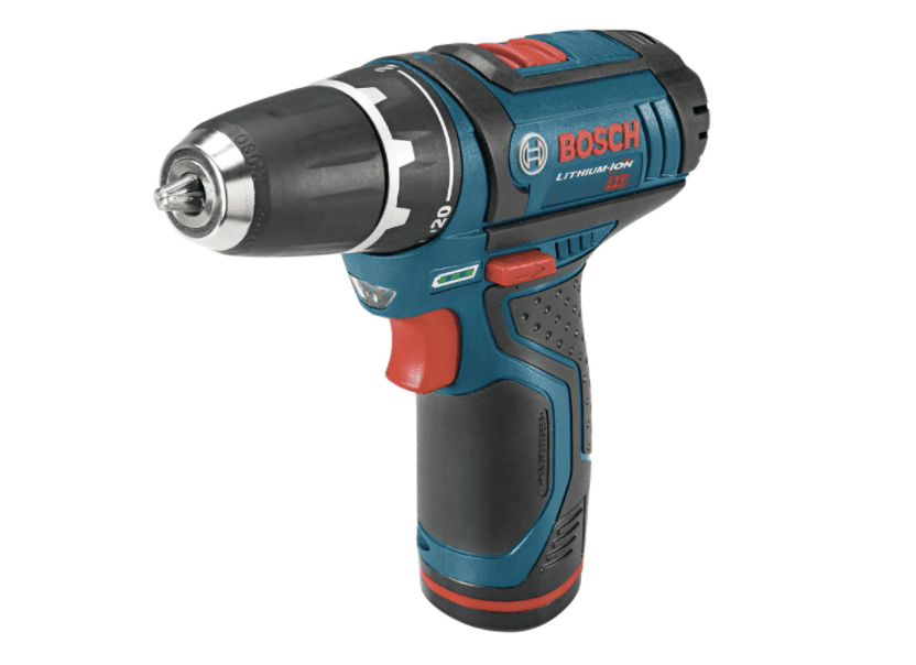 Bosch PS31-2A 12-Volt Max Lithium-Ion 3/8-Inch 2-Speed Drill/Driver Kit with 2 Batteries, Charger and Case