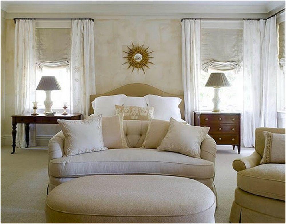 Elegant, neutral bedroom