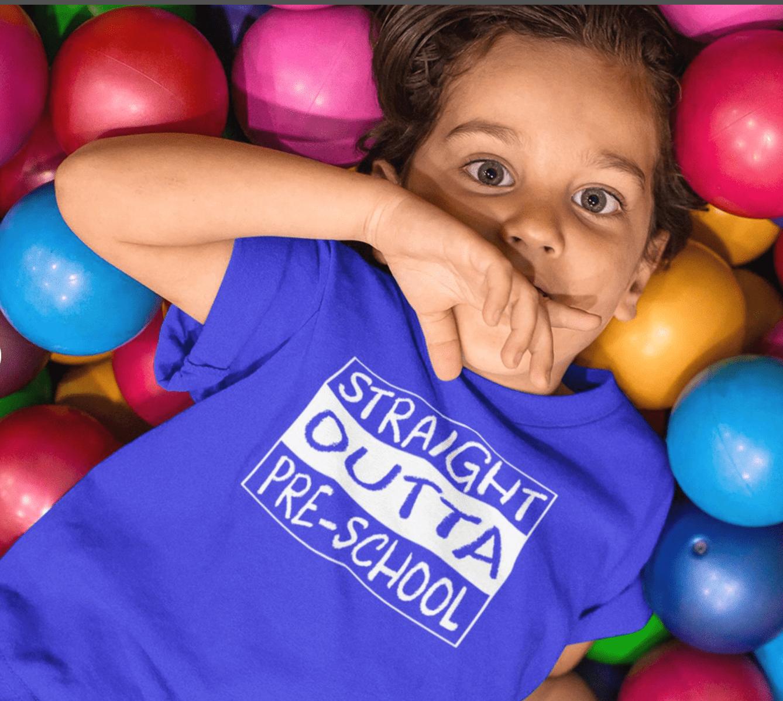 Straight Outta Preschool T Shirt