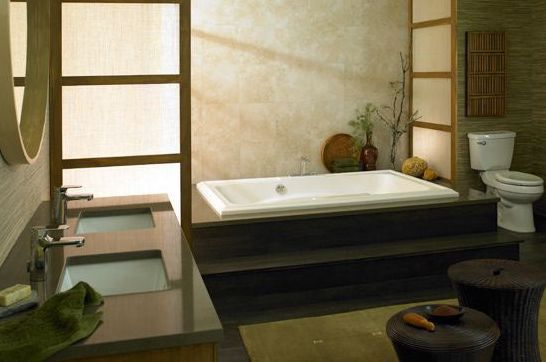 Popular Bathroom Styles - The Asian Style Bathroom