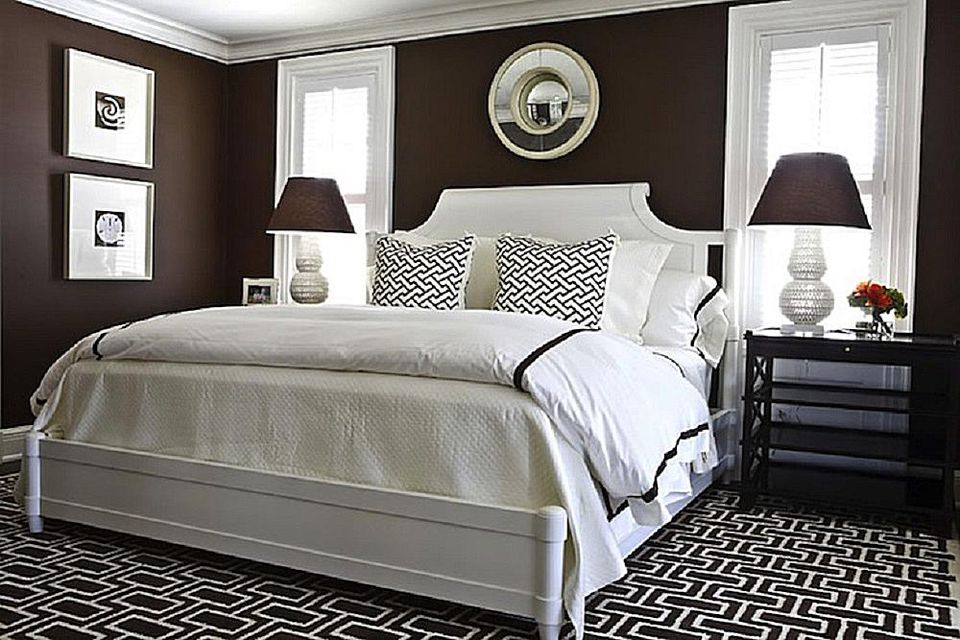 black color bedroom the best brown paint colors for the bedroom 10856