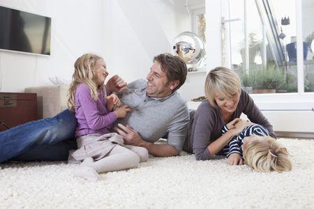 Family On A Carpet
