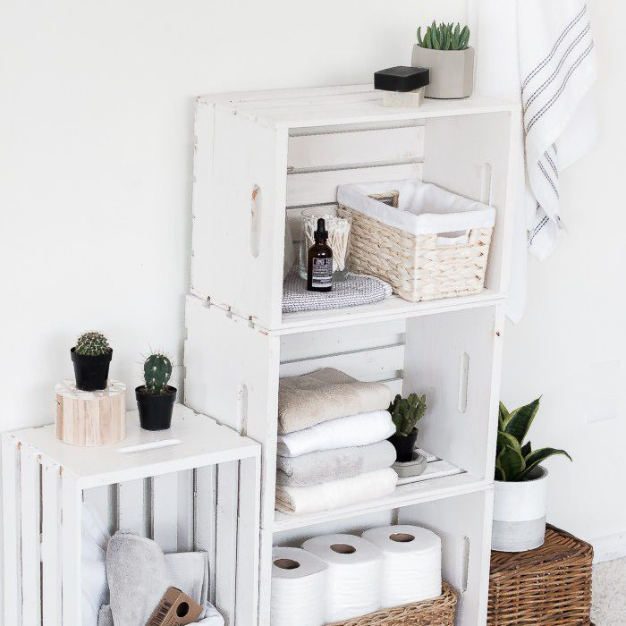 19 Ways To Decorate With Wooden Crates