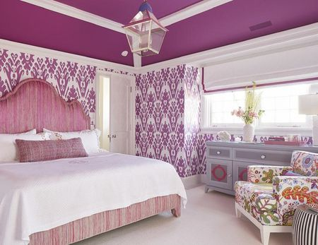 Purple Bedrooms Tips And Decorating Ideas Awesome Purple Bedroom