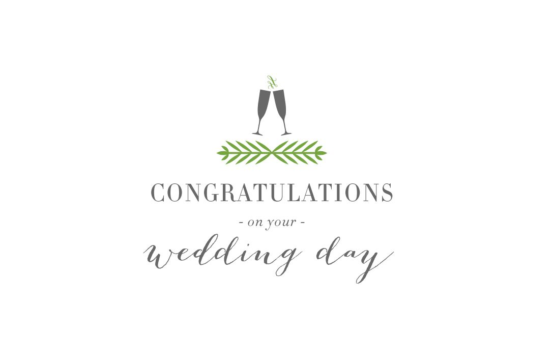 Free Printable Wedding Cards That Say Congrats