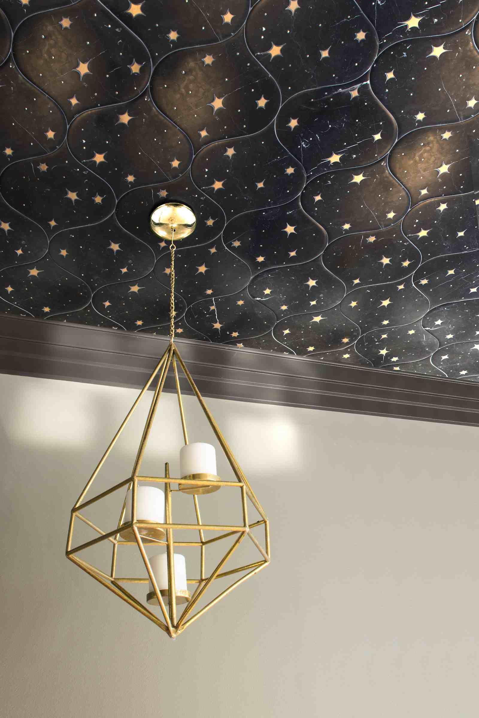 Create a celestial ceiling