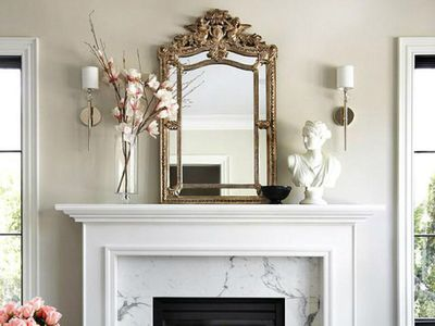 Superb Fireplace Mantel Decoration Tips And Ideas Download Free Architecture Designs Rallybritishbridgeorg