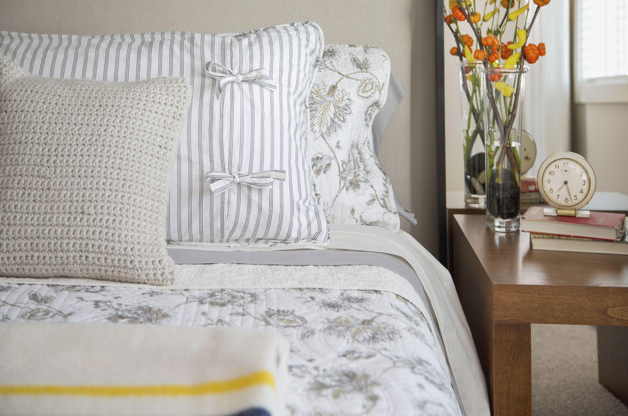 how often to wash bedding. Black Bedroom Furniture Sets. Home Design Ideas