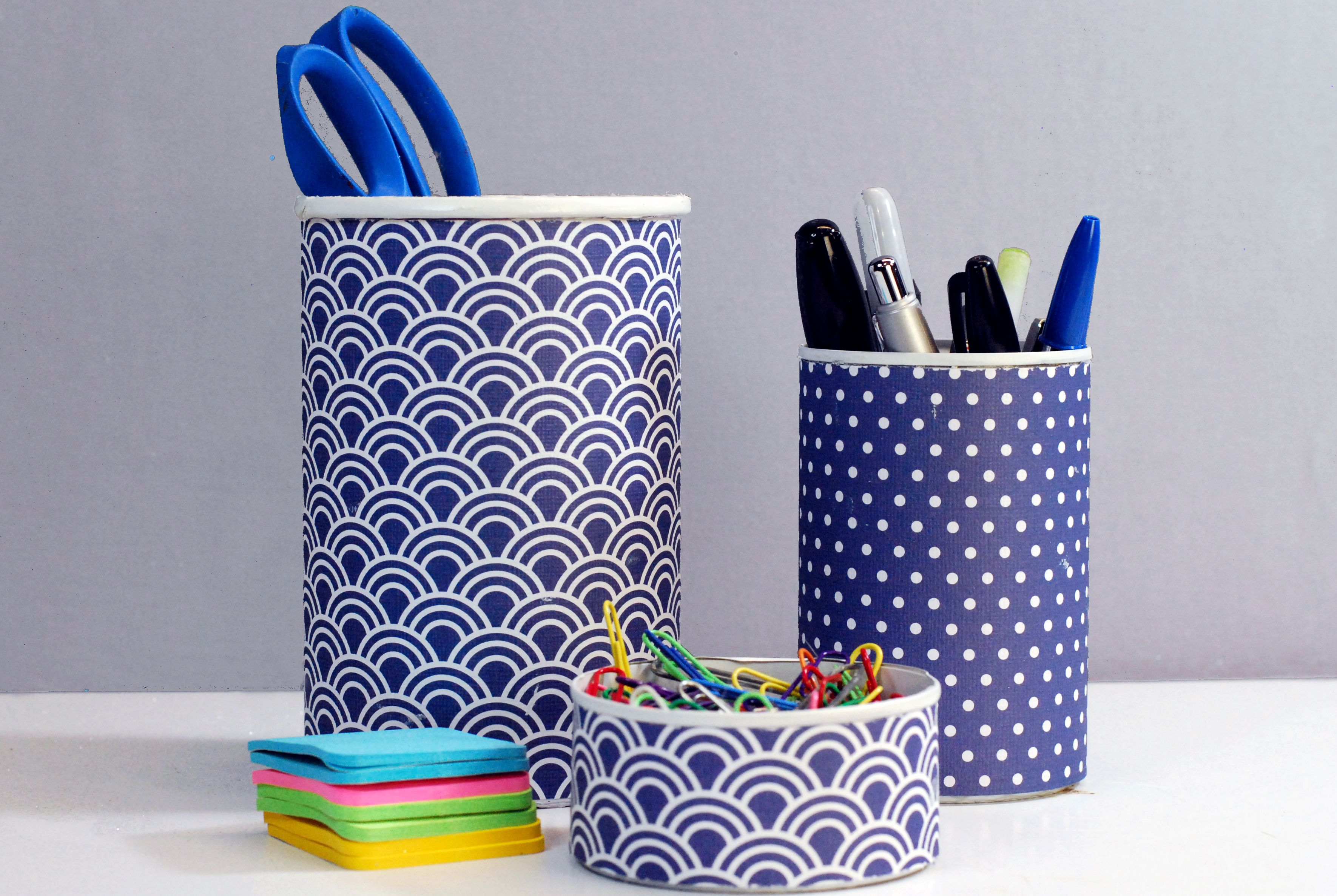 pencil and office supply holders