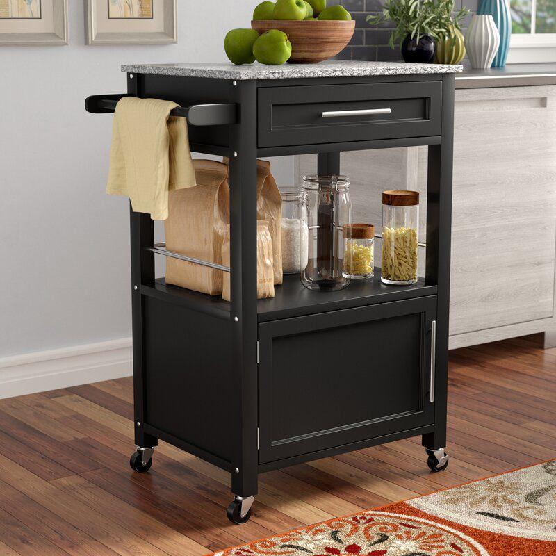 Andover Mills Elsie Kitchen Cart