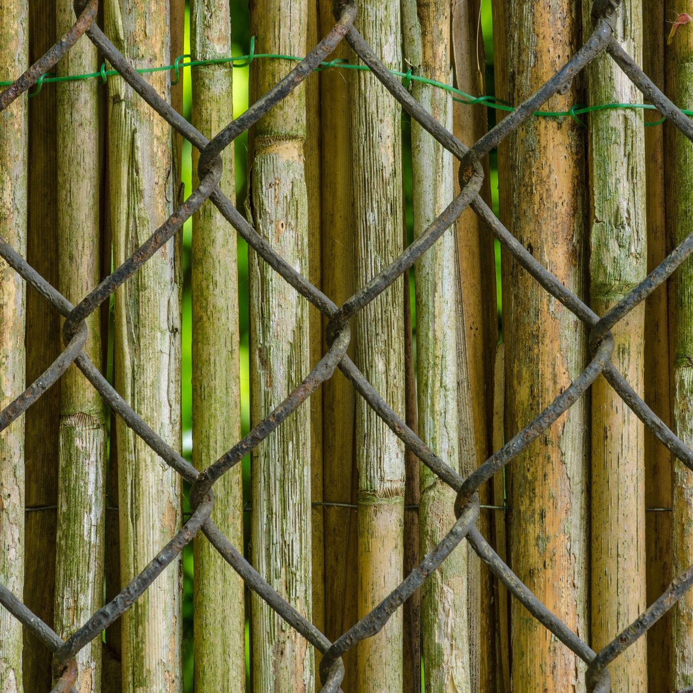 artificial green bamboo fence for decoration buy cheap.htm how to cover up a chain link fence  how to cover up a chain link fence