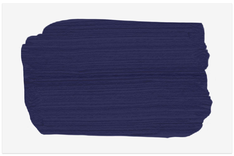 Midnight Navy 2067-10 paint swatch from Benjamin Moore