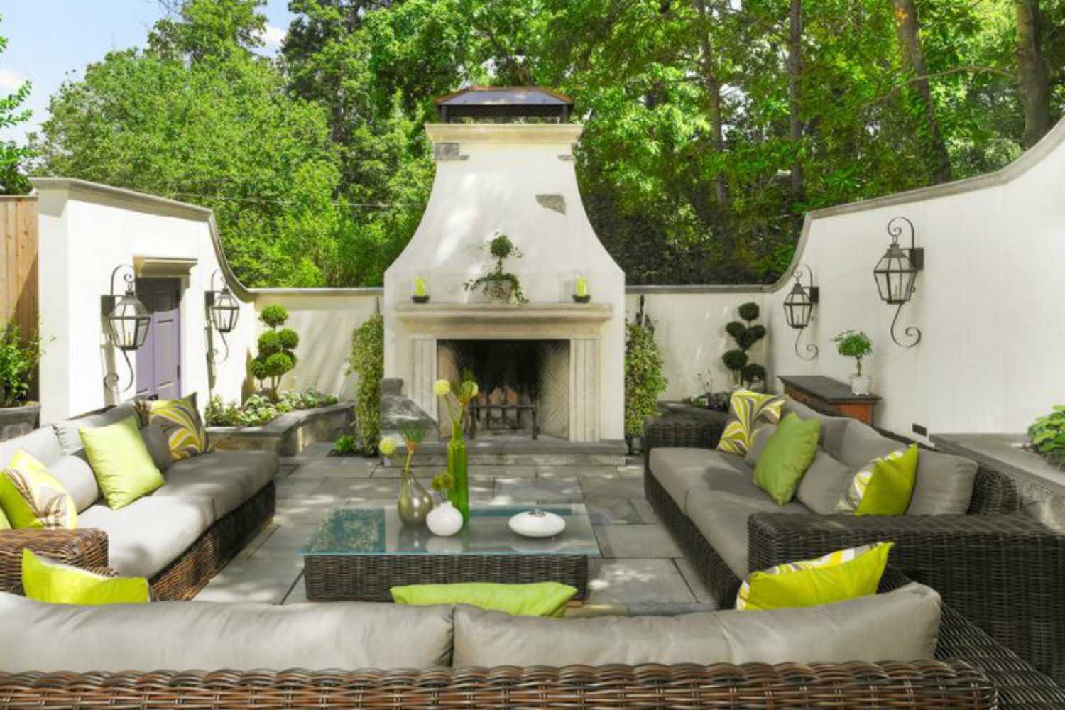49 Outdoor Living Room Design Ideas