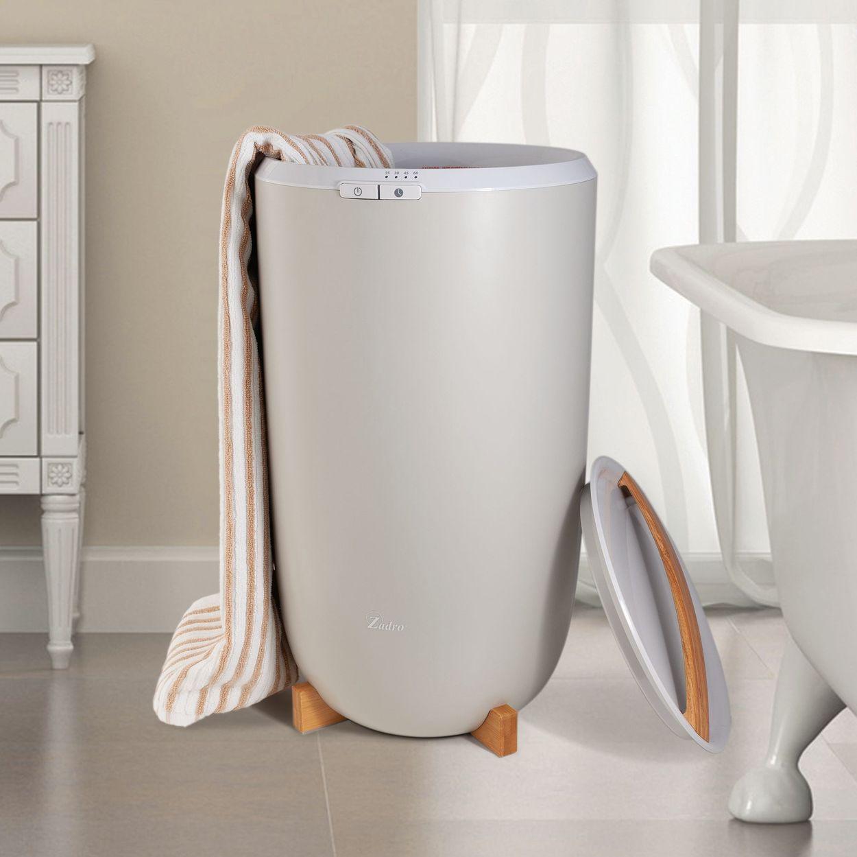 Zadro™ Luxury Ultra Large Towel Warmer in White