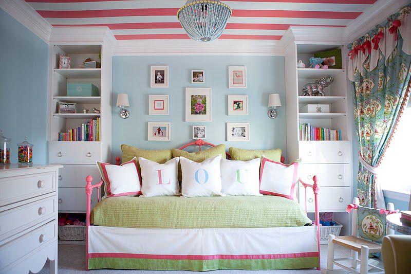 Cottage pastel girl's room