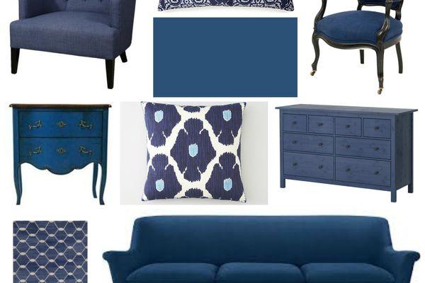 Indigo Blue Home Decor