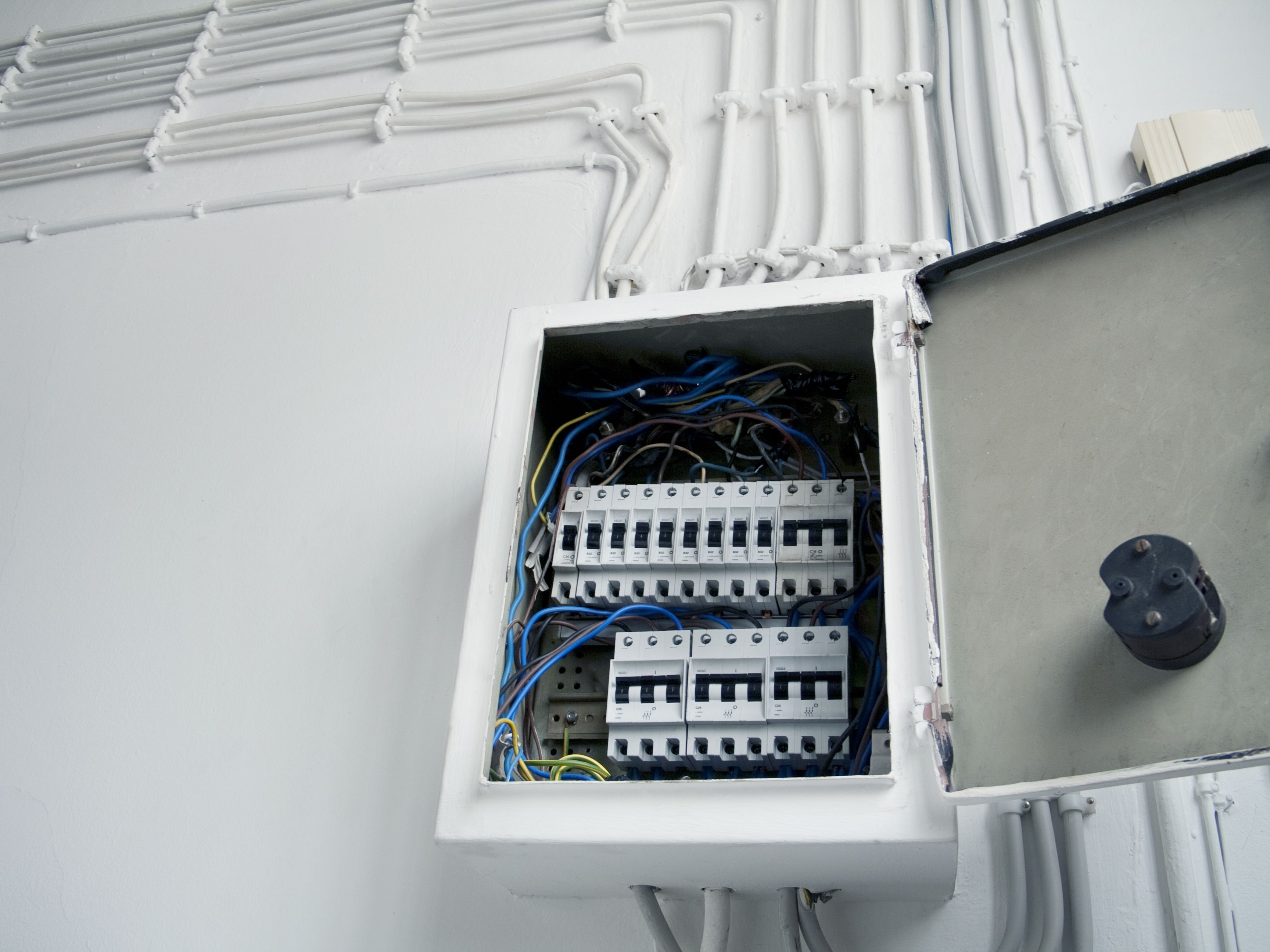 safely reset the circuit box that powers your house
