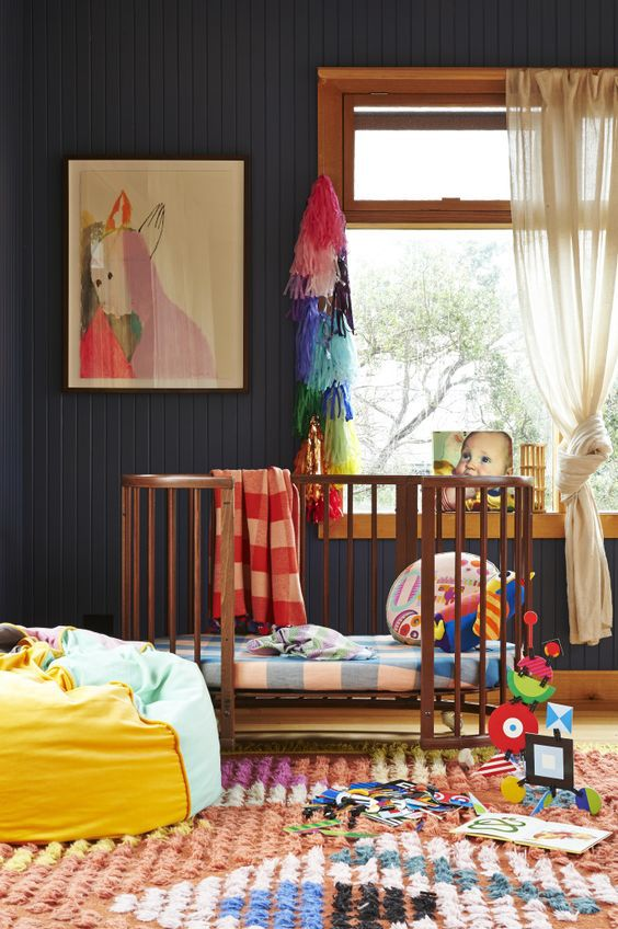 Colorful Baby Room Boy