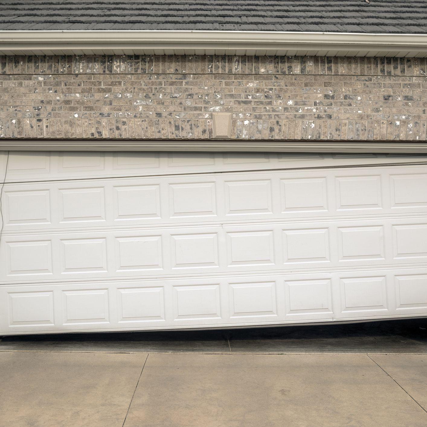 Pair of Henderson Garage doors one single one double