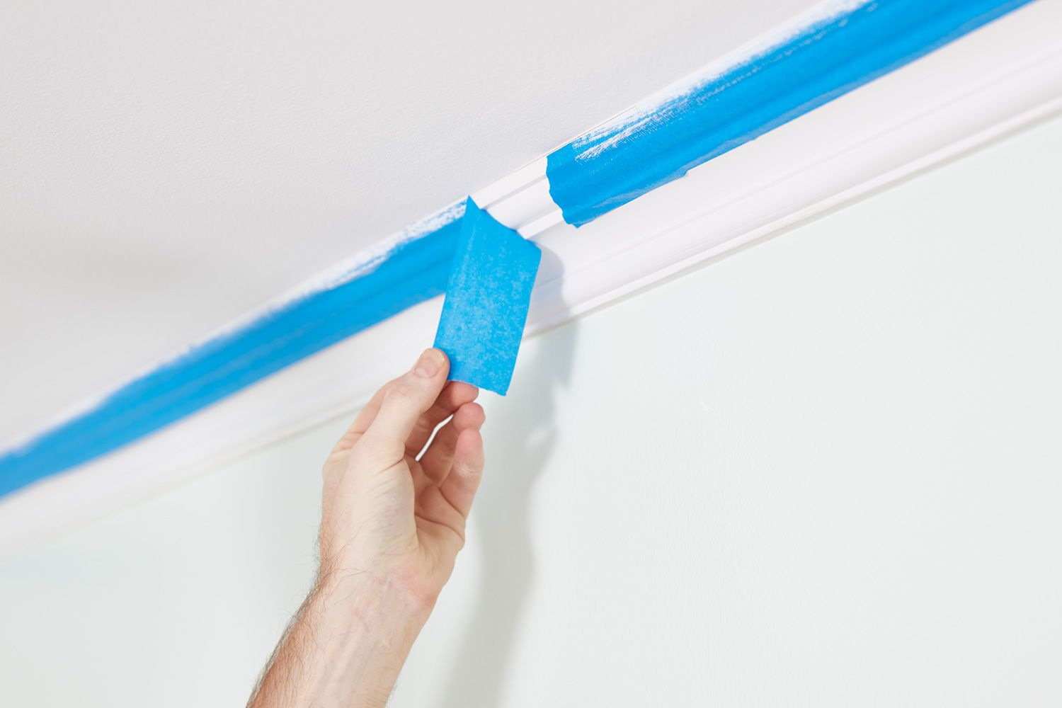 Removing painters tape