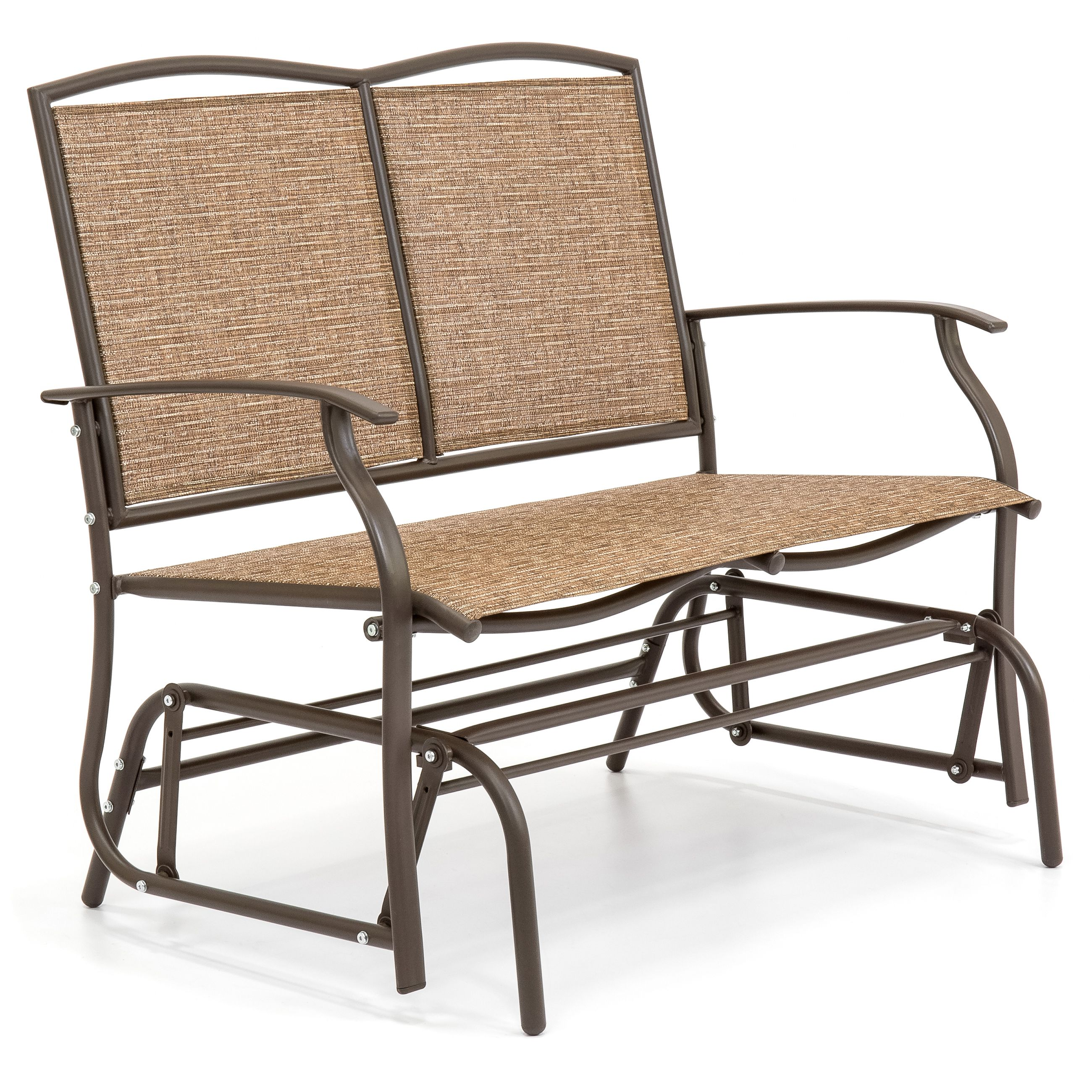 Best Choice Products 2-Person Patio Loveseat Glider