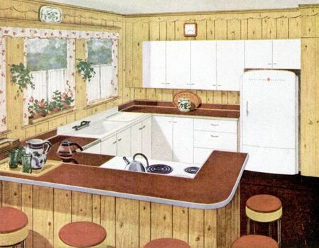 Kitchens From The 48s And 48s Mesmerizing 1930 Kitchen Design