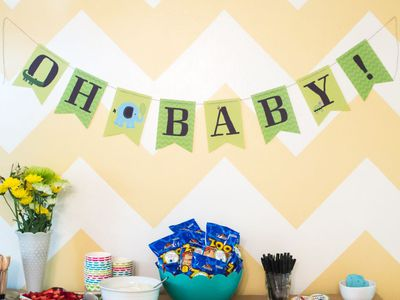 Host A Baby Shower With Kids As Guests