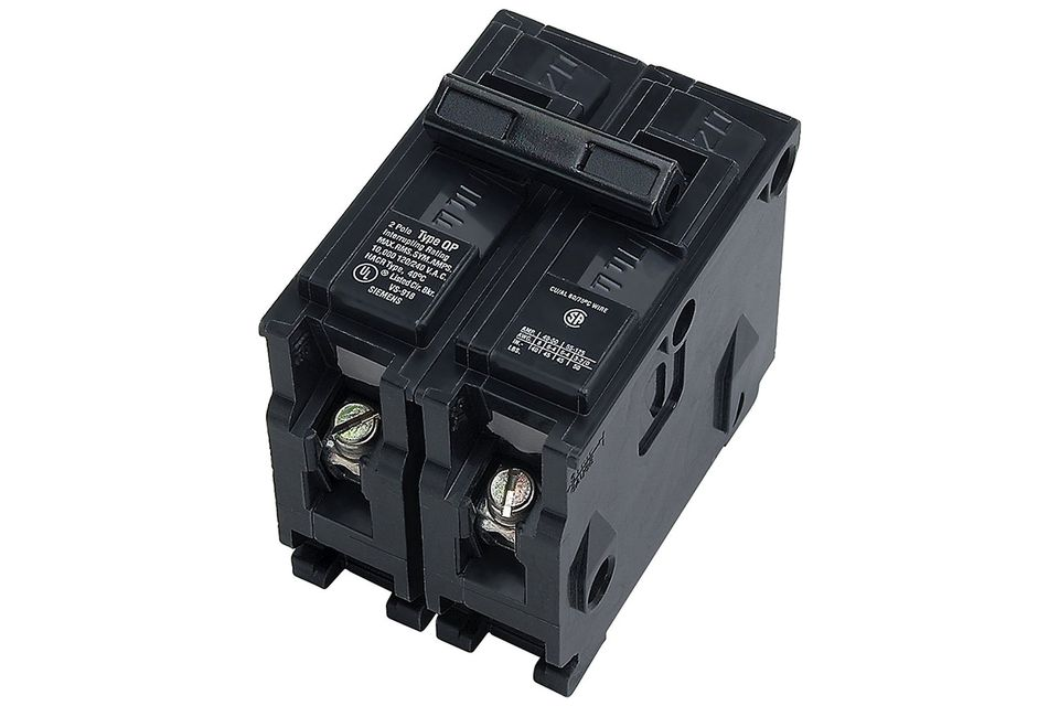 Double-Pole Circuit Breakers on
