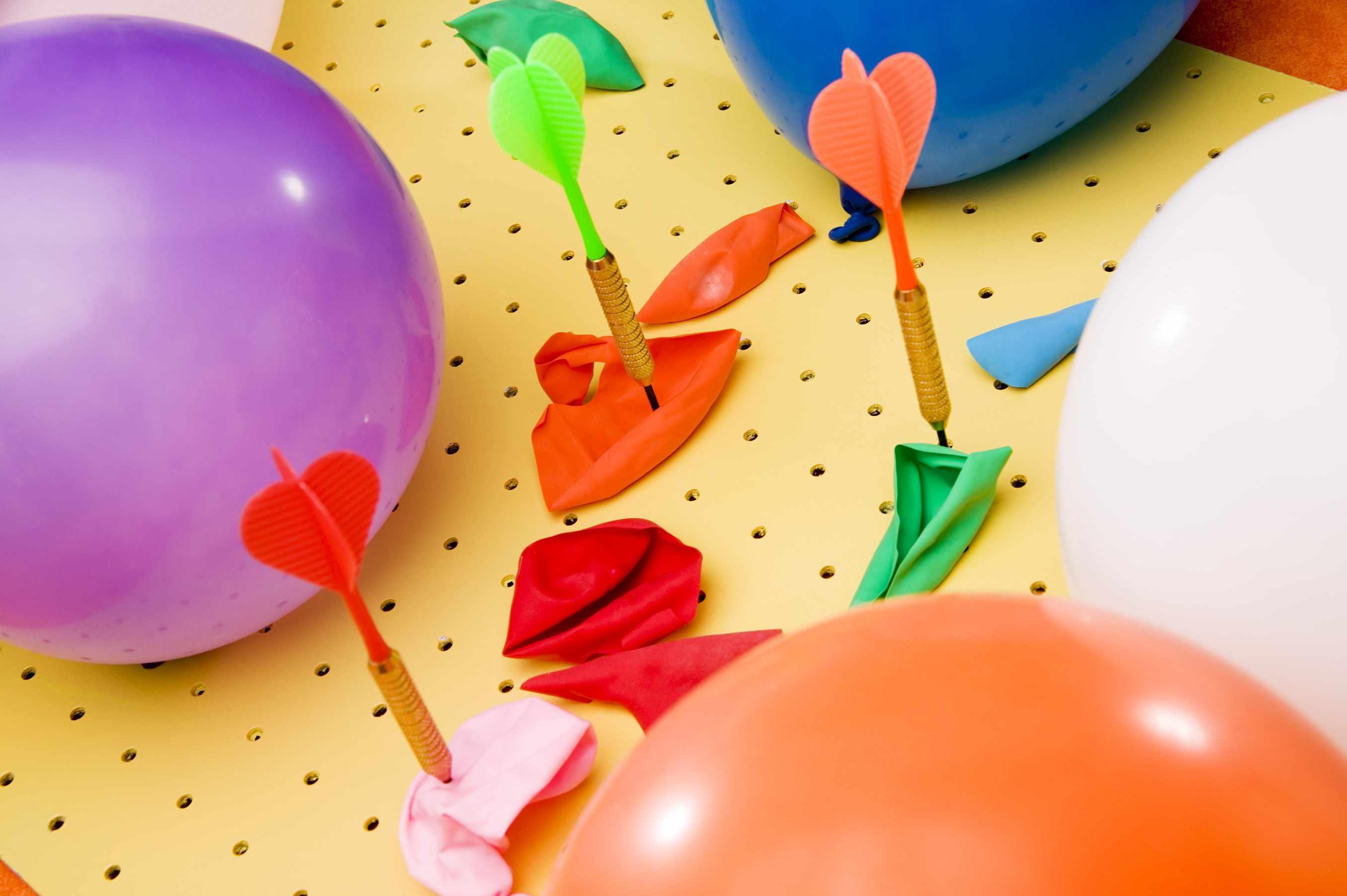 Balloons and darts