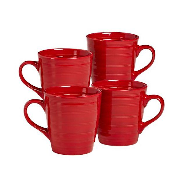 overandback Farmhouse Style Mugs